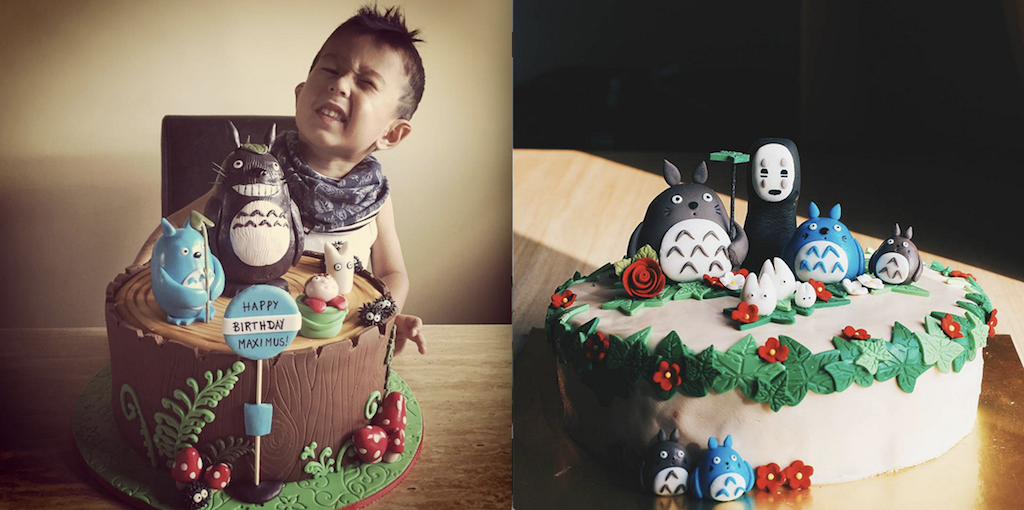 Prime 20 Totoro Cakes That Are Too Cute To Eat Animamo Funny Birthday Cards Online Aeocydamsfinfo